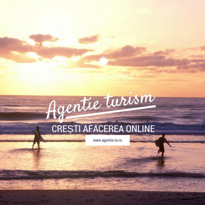 creare site agentie turism